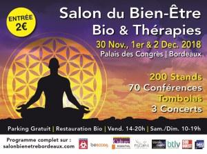 Salon du Bien Etre, Bio et Thérapies Bordeaux @ Palais des Congrès  | Bordeaux | Nouvelle-Aquitaine | France
