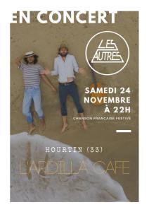 Les Autres en Concert @ Ardilla Café   Hourtin   Nouvelle-Aquitaine   France