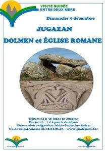 JUGAZAN : SON DOLMEN, SON EGLISE ROMANE visite guidée @ Le bourg | Jugazan | Nouvelle-Aquitaine | France