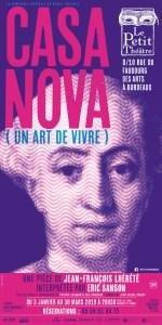 CASANOVA (UN ART DE VIVRE) @ Le Petit Théâtre | Bordeaux | Nouvelle-Aquitaine | France