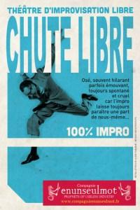CHUTE LIBRE - spectacle improvisé- @ L'IMPROVIDENCE | Bordeaux | Nouvelle-Aquitaine | France