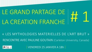 Le Grand partage de la Création Franche #1 @ Musée de la Création Franche | Bègles | Nouvelle-Aquitaine | France