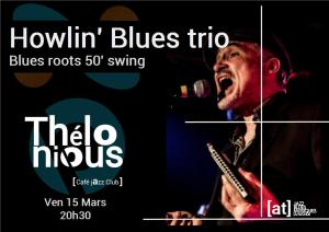 Howlin' Blues trio @ Thélonious Café Jazz Club | Bordeaux | Nouvelle-Aquitaine | France