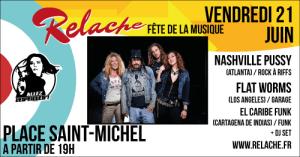 Relache n°10 : Fête de la Musique // Saint-Michel @ Place Saint Michel | Bordeaux | Nouvelle-Aquitaine | France
