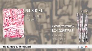 Vernissage | Nils Dieu et Marco Decorpeliada, Schizomètres @ Musée de la Création Franche | Bègles | Nouvelle-Aquitaine | France