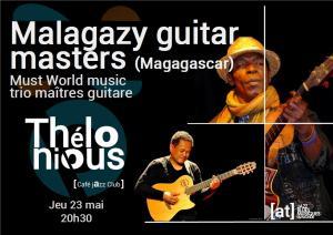 Malagazy guitar masters (Madagascar, musique du Monde) @ Thélonious Café Jazz Club | Bordeaux | Nouvelle-Aquitaine | France