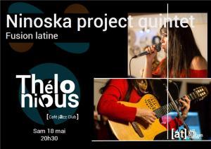 Ninoska project quintet (Fusion Latine) @ Thélonious Café Jazz Club | Bordeaux | Nouvelle-Aquitaine | France