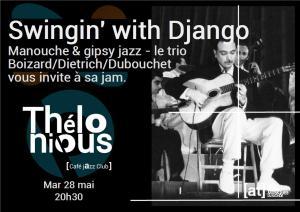 Swingin' with Django #2 (Manouche & Gipsy Jazz) @ Thélonious Café Jazz Club | Bordeaux | Nouvelle-Aquitaine | France