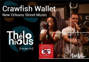 Crawfish Wallet (New Orleans Street Music) @ Thélonious Café Jazz Club | Bordeaux | Nouvelle-Aquitaine | France