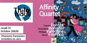 Affinity et les chansons francaises @ THELONIOUS | Bordeaux | Nouvelle-Aquitaine | France