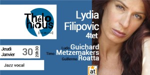 Lydia Filipovic 4tet - jazz divas @ THELONIOUS CAFE JAZZ CLUB | Bordeaux | Nouvelle-Aquitaine | France
