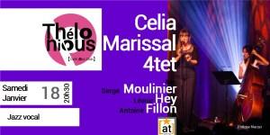 Celia Marissal - jazz diva @ THELONIOUS CAFE JAZZ CLUB | Bordeaux | Nouvelle-Aquitaine | France