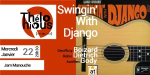 Swingin' with Django @ THELONIOUS CAFE JAZZ CLUB | Bordeaux | Nouvelle-Aquitaine | France