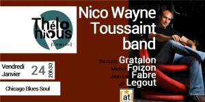 Nico Wayne Toussaint band @ THELONIOUS CAFE JAZZ CLUB | Bordeaux | Nouvelle-Aquitaine | France