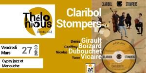 Claribol Stompers @ Thelonious Café Jazz Club   Bordeaux   Nouvelle-Aquitaine   France