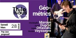 Géométrics - Christophe Maroye @ Thelonious Café Jazz Club   Bordeaux   Nouvelle-Aquitaine   France