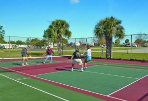 Pickleball court in Orlando (Clermont)