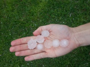 Some Texas-sized hail