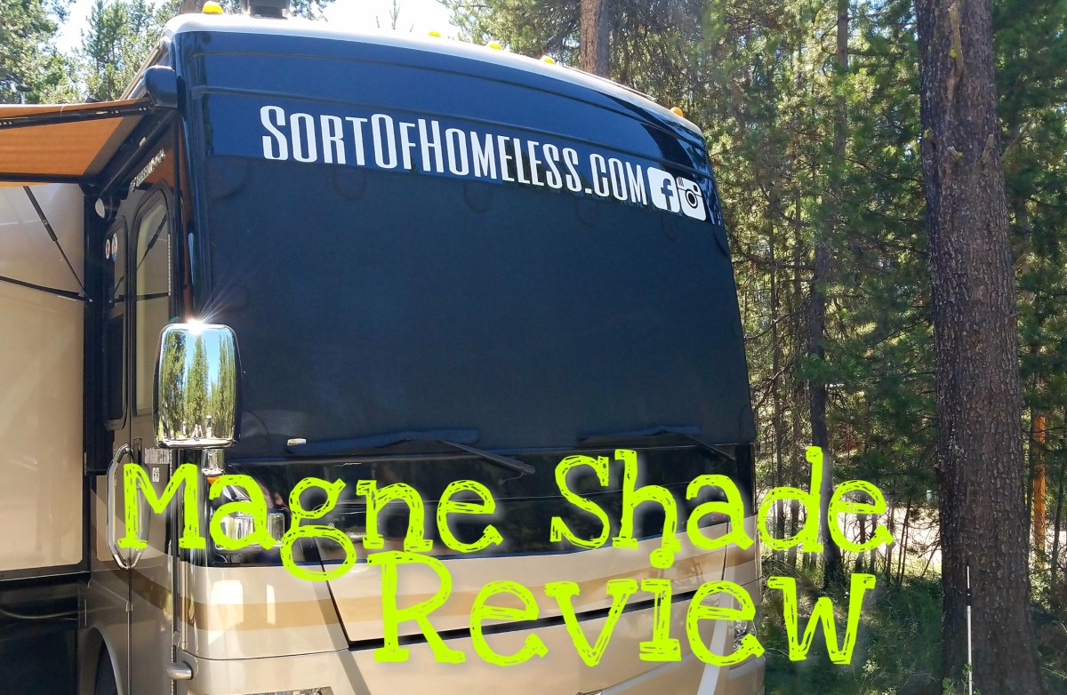 Product Review: Magne Shade - No ladder, lots of shade!