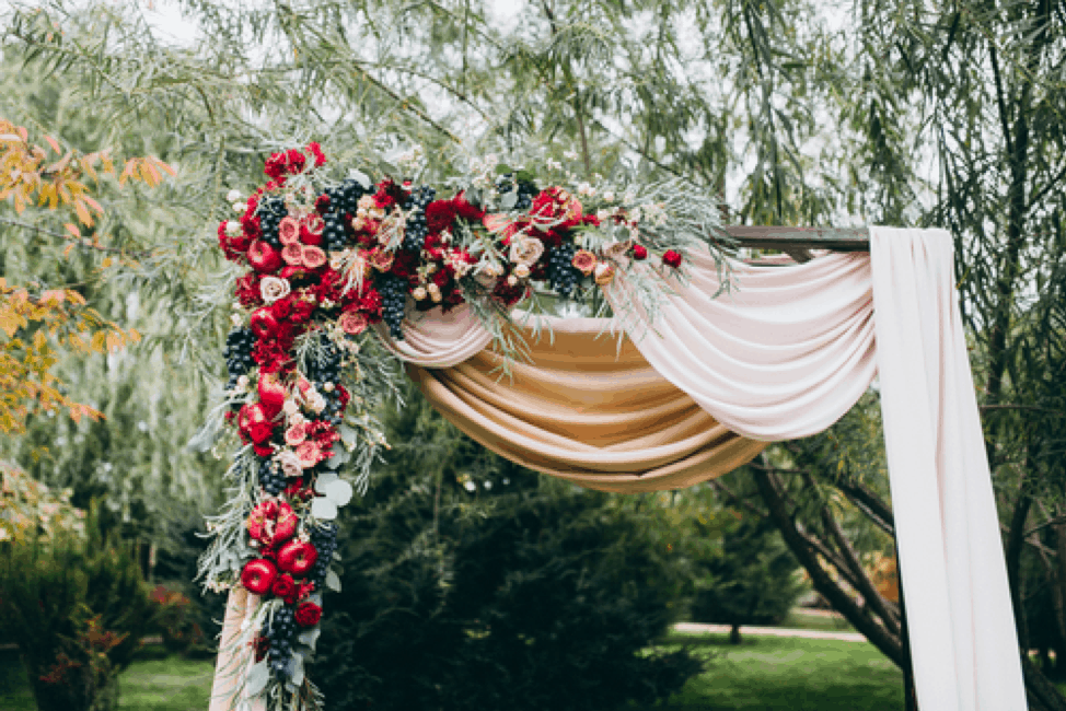 A Panorama Of Color Palette Ideas For Your Fall Wedding