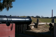 This is an other style of cannon found on location