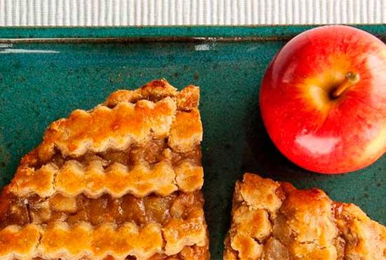 Torta de maçã (Brasiliansk eplekake)