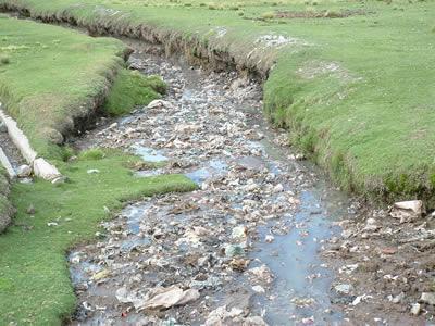 Plasticos e poluição
