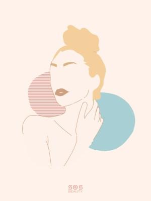 I'm beautiful - illustrazione