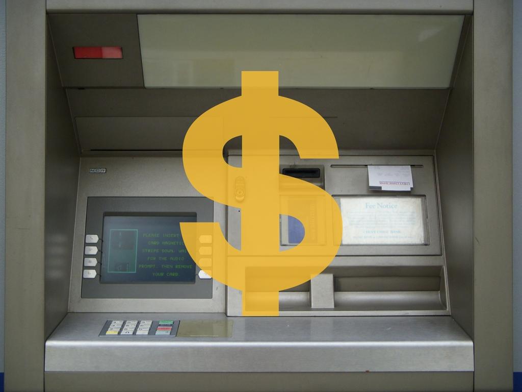Geld wechseln am ATM