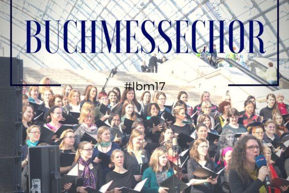 Buchmessechor der Buchmesse Leipzig 2017