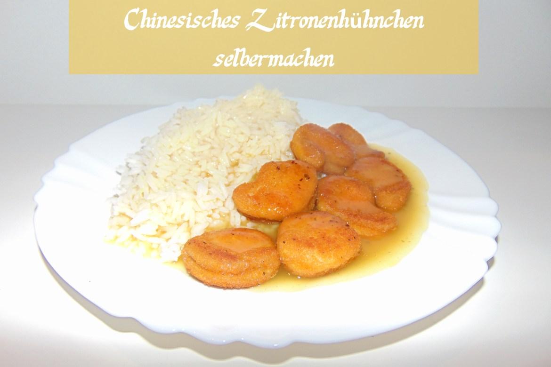 Chinesisches Zitronenhühnchen - Rezept