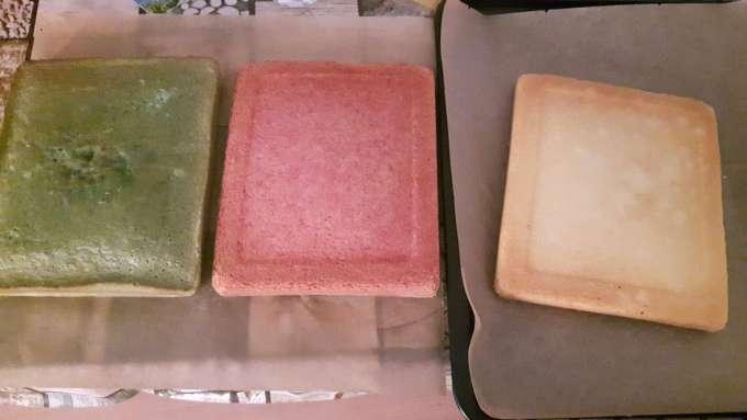 Farbiger Kuchen
