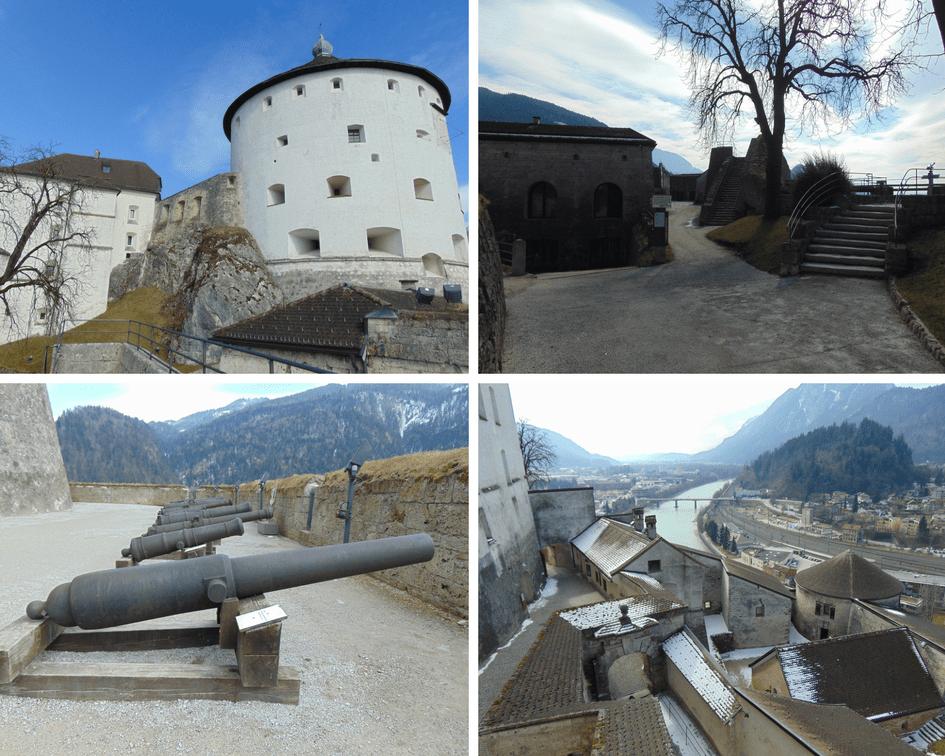 Außenanlagen Festung Kufstein
