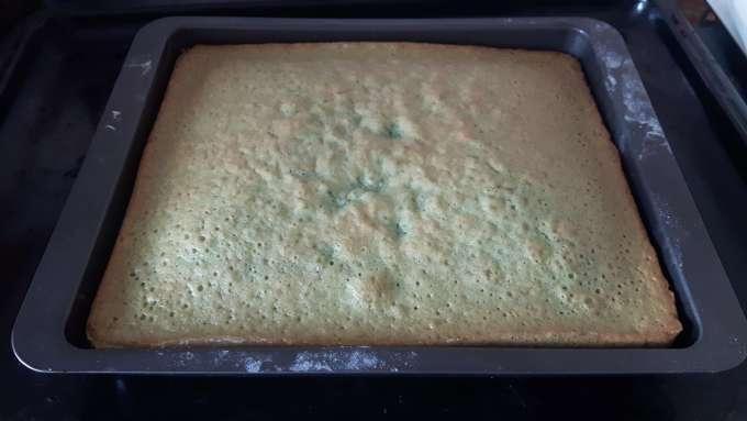 Grünen Kuchen backen