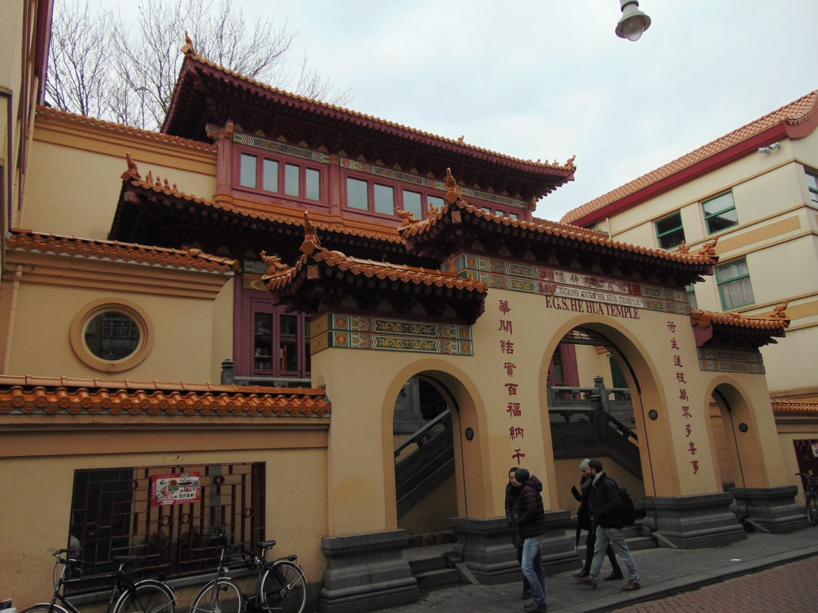 Chinese Buddhist Temple in Amsterdam