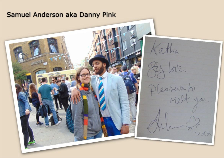 Meeting Samuel Anderson - ein echt netter Typ!