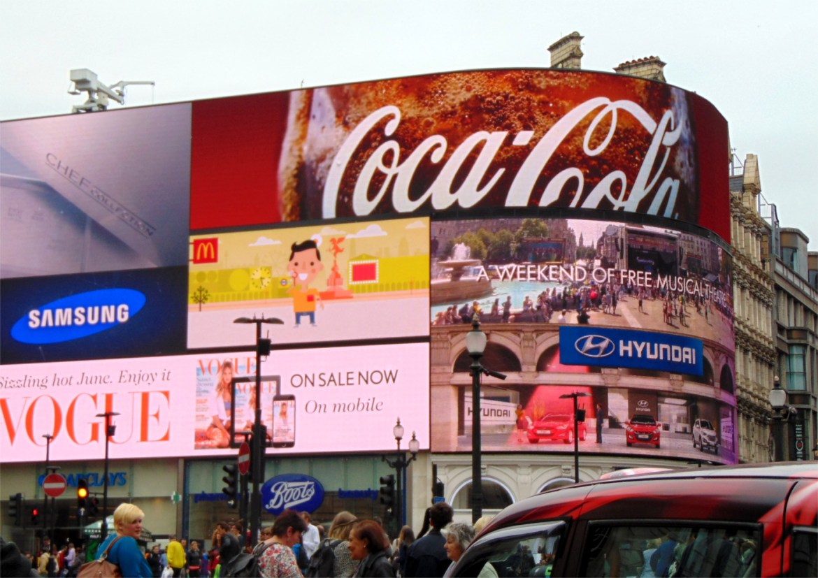 Am Picadilly Circus