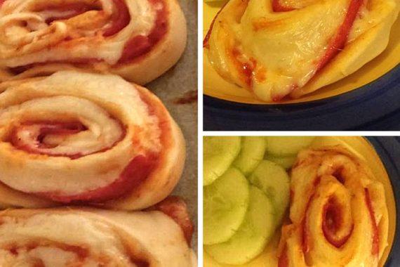 Pizzaschnecken selbermachen in 5 Minuten