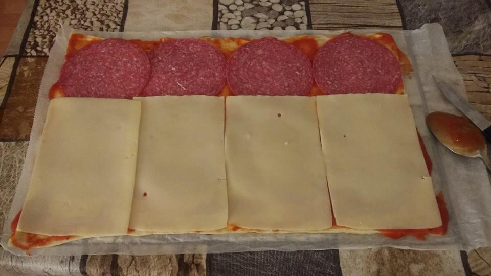 Pizzaschnecken Zutaten