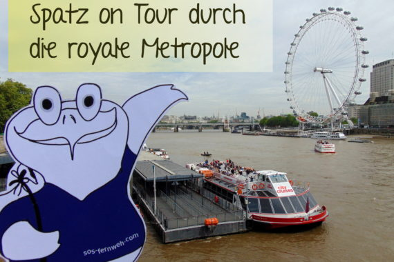 Ein Spatz auf royaler Mission in London