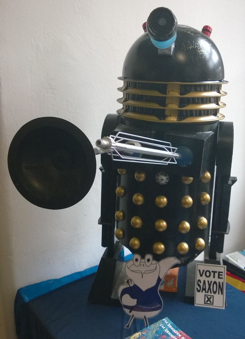Dalek auf der Timelash Germany