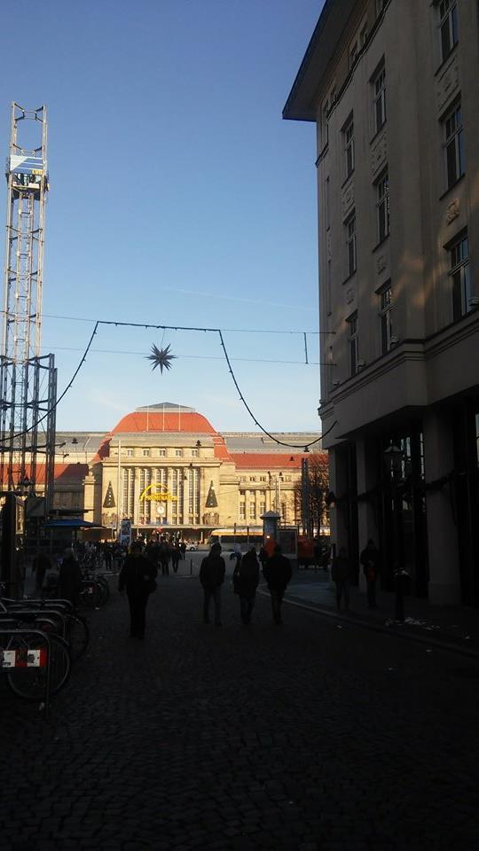 Vom Bahnhof zum Leipziger Weihnachtsmarkt
