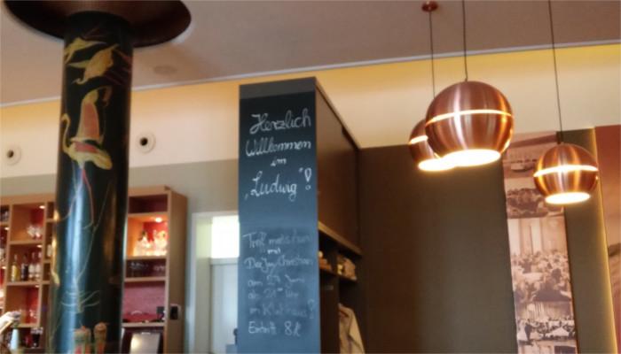 Ludwig Restaurant in Ludwigsfelde