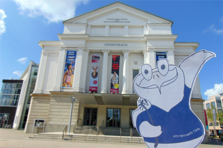 Das Opernhaus Magdeburg