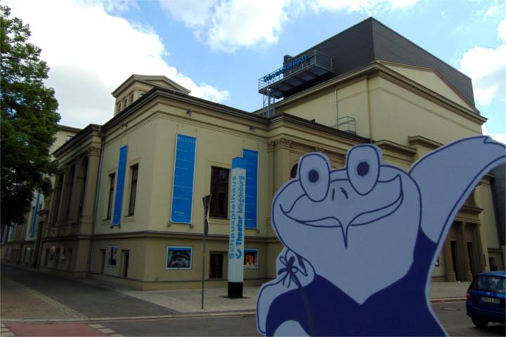 Schauspielhaus in Magdeburg