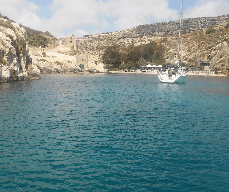malta bucht hondoq gozo