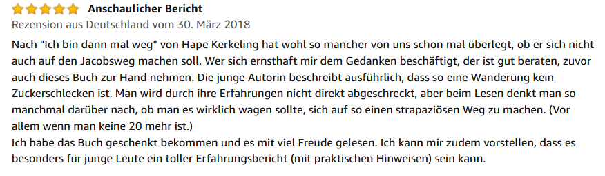 Rezension Amazon 2