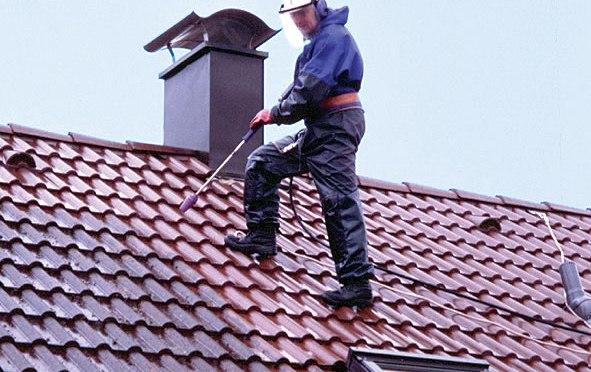 amiante sur toit