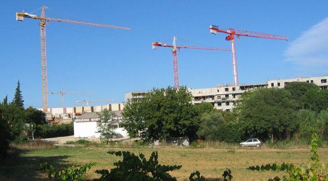 grue pour construction