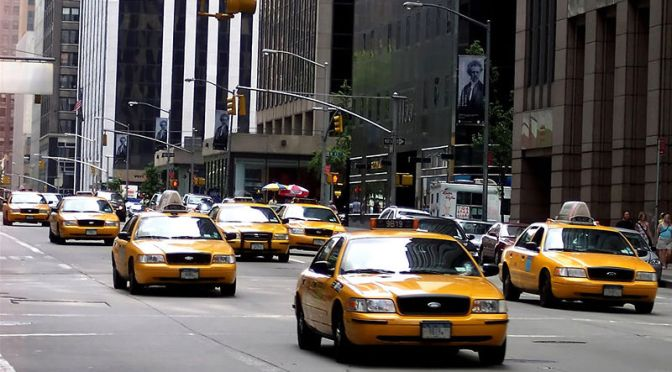 Taxi dans New York